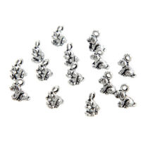 Medieval Castle Charm Pendant Princess Fairy Silver Bracelet Necklace Bulk Lot