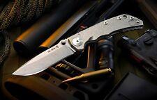 Spartan Blades Knife Harsey Folder S35VN Frame Lock Stonewashed