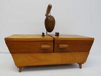 mid century design sewing box - Design Nähkasten Utensilienbox Nähkästchen 60er