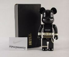 MIB SKULL 400% Be@rbrick MEDICOM Bearbrick BLACK
