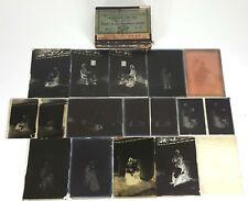 COLLECTION DE 14 PLAQUES PHOTOGRAPHIQUES EN VERRE. XIXE-XXE SIÈCLE.
