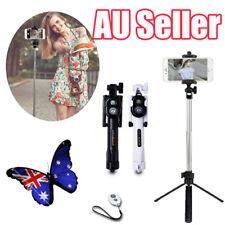 Monopod Selfie Stick Handheld Tripod Bluetooth Shutter For iPhone 6 7 Samsung BO