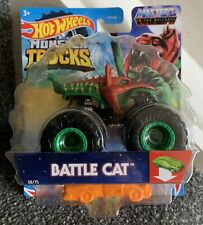 Hot Wheels Monster Trucks Battle Cat Masters Of The Universe Mattel