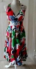 BNWT /8 PHASE EIGHT Celia  HALTERNECK FIT & FLARE DRESS 12