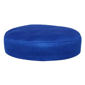 Polyester Round Chair Seat Cover Protector Bar Stool Cover Slipcover Blue