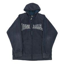Vintage LONSDALE Hooded Fleece Jacket | Coat Retro 90s Festival Hoodie