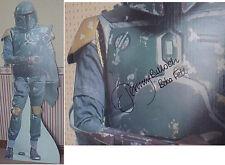 Star Wars Boba Fett Standee - Autographed (Jeremy Bullock)