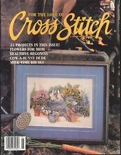 For The Love Of Cross Stitch Magazine May 1995 Angels Ring Mother's Day Cow Bib
