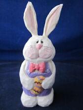 Eddie Walker Easter Bunny Rabbit Holding Egg ~ As Is
