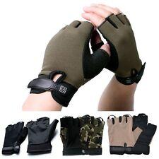 Half Finger Gloves Motorbike Cycling Gym Training Hiking Climbing Hunting Sport