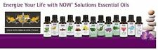 NOW Foods 1oz. Diffuser Burner Topical Essential Oils Improve Mood Health FRESH!