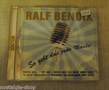 CD Ralf Bendix si est-ce jede Nuit 16 Titres Schlager Rockn Roll musique musique