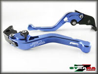Suzuki GSXR1000 2007 - 2008 Strada 7 Racing Adjustable CNC Short Levers Blue