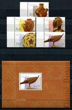 Guinea Bissau 2001 artigianato 1888-1892 + blocco 367 ** MNH