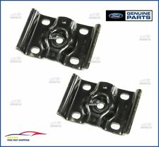 (2) NEW OEM 1999-2010 F250 F350 Super Duty Rear Axle Spring U-Bolt Plate Bracket