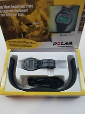 Polar Pacer Heart Rate Monitor Watch Chest Strap Needs Battery