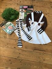 Book Day Fancy Dress Umpa Lumpa Outfit And Green Wig