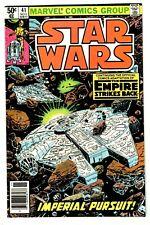 STAR WARS #41 (NM) EMPIRE STRIKES BACK! High Grade! Millennium Falcon! Newsstand