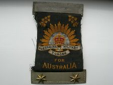 WW1 - Mothers' and Widows' Badge - 2 Stars KIA Gallipoli & France with research