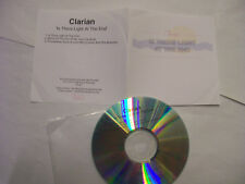 CLARIAN Is There Light At The End EP – 2014 UK CD PROMO  – New Wave - RARE!