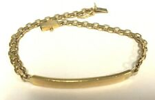 14k ID Bracelet 7.00 Grams Yellow Gold    6925-1