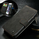 CASEME 14 Slots Wallet Detachable 2-in-1 Genuine Leather Case for iPhone 6s 6