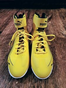 PUMA SPEED CAT Men's Yellow Athletic Shoes Size 11 (w/ Bag)!!!