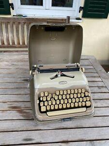 Adler Triumph Perfekt Schreibmaschine mit Koffer Antik /Rarität / Vintage Retro