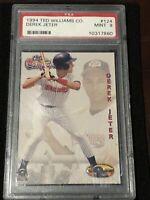 1994 Ted Williams Co. Baseball DEREK JETER ROOKIE PSA 9, New York Yankees HOFER