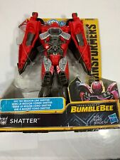 Flawed Box Transformers Bumblebee Movie Mission Vision Shatter Action Figure