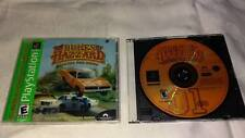 Dukes of Hazzard Racing For Home Playstation PS1 Video Game Used (+ extra case)