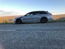 CARBON FIBER PERFORMANCE SIDE SKIRT BLADES For Audi RS6 4G C7 SKIRTS