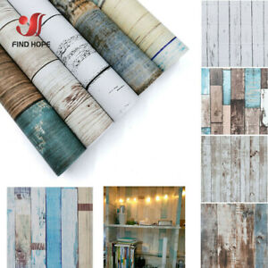Contact Paper Wood Peel and Stick Wallpaper Removable Self Adhesive Decor Roll