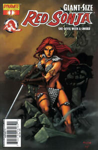 Giant Size Red Sonja 1 Mel Rubi She-Devil with a Sword Michael Avon Oeming VF
