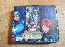 Marvel Avengers Hero's Mens Boys Gift Wallet