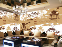 3D Kaffee Totem Essen 577 Tapete Tapeten Mauer Foto Familie Tapete Wandgemälde