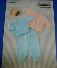 Chevy Childs Angel Top Sweater Trousers Knitting Pattern 1113