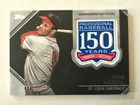 STAN MUSIAL - 2019 Topps Series 2 - 150th Anniversary Patch Relic - AMP-SM
