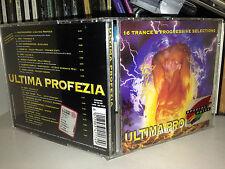 ULTIMA PROFEZIA RARO CD 1996 TRACE & PROGRESSIVE CLAUDIO DIVA NOSTRADAMUS