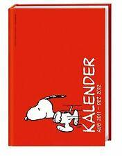 Snoopy Schüleragenda A6 2012: 17-Monats-Kalender | Buch | Zustand sehr gut