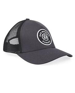 Gas Monkey Initial Logo Patch Trucker Cap (Dark Grey/Black) Free UK Shipping