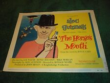THE HORSE'S MOUTH - ORIGINAL TITLE LOBBY CARD - ALEC GUINNESS - 1959