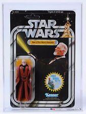 1978 Kenner Star Wars Ben Obi-Wan Kenobi 20 Back G AFA 85 MOC Unpunched