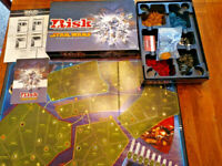 RISK STAR WARS  - CLONE WARS EDITION -THE GAME OF GALACTIC DOMINATION - COMPLETE