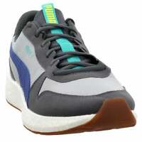 Puma Nrgy Neko Retro Lace Up Sneakers  Casual   Sneakers Grey Mens - Size 14 D