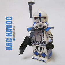LEGO Custom Clone Trooper - Havoc - commander mini figure rex cody Havok ARC