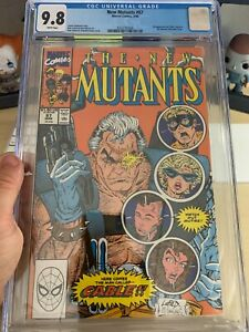 NEW MUTANTS 87 CGC 9.8 1ST APP OF CABLE AND STRYFE. MEGA COPPER AGE KEY!!!!