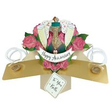 Wedding Anniversary Card 3D Pop Up Card For Wedding Day Gift Card
