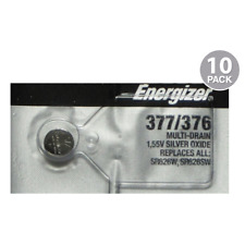 Energizer 377/376 Silver Oxide (10 Pack)