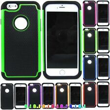 Rubber Armor Hybrid Best Impact Hard Case Cover For Apple iPhone 6s / 7 Plus new